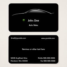 297 best auto sales business cards images on pinterest auto sales concept car auto sales business card colourmoves