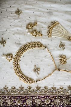 Gold Wedding Jewelry | Naveed Ahmed | Theknot.com