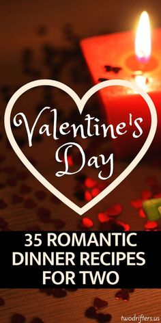 Whether you're cooking Valentine's Day dinner, or preparing a date night meal, here are 35 sure-to-impress romantic dinner recipes for two. night meals romantic dinner 35 Delicious, Romantic Dinner Recipes for Two Romantic Dinner For Two, Romantic Dinner Recipes, Romantic Meals, Romantic Picnics, Romantic Food, Romantic Proposal, Valentines Day Food, Valentine Special, Valentines Dinner Recipes