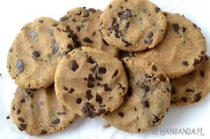 Ciastka z ciecierzycy z masłem orzechowym Sweets, Vegan, Cookies, Food, Crack Crackers, Gummi Candy, Candy, Biscuits, Essen