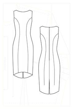 Image result for princess line dress Princess Line Dress, Couture, Pattern, Image, Dresses, Vestidos, Patterns, Dress, Haute Couture