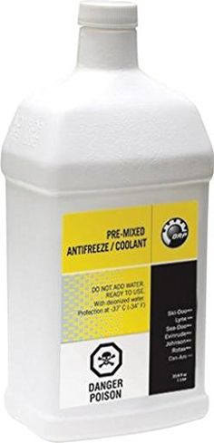 BRP Sea-Doo Can-Am Spyder Pre-Mixed Antifreeze/Coolant #carscampus