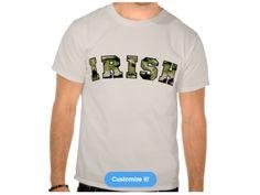 Irish Forest Camo, Style is Basic T-Shirt, color is Sand Irish Design, Camo, Mens Tops, T Shirt, Urban, Style, Fashion, Camouflage, Supreme T Shirt