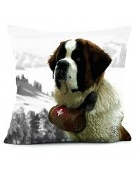 Saint Bernard pillow