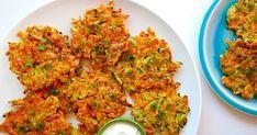 Składniki : 2 marchewki 2 ząbki czosnku 2 cukinii 2 duże jajka 1/3 szklanki mąki owsianej / nadadzą się również zblendowane płatki jaglane 1/3 szklanki...