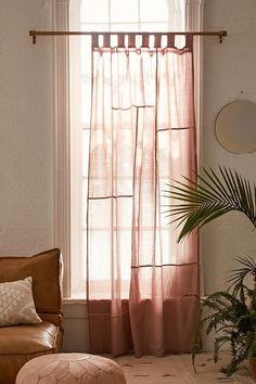 Chloe Patchwork Gauze Curtain