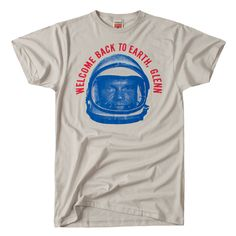 HOMAGE John Glenn 50th Anniversary T-Shirt - $14.00 Locally printed in Columbus, OH