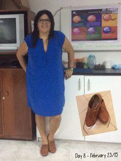 """Day 8 - #ClosetChallenge - Vestido de Aviraté, Colombo. """"Zapatos de cachaca"""" comprados en Chicago en el verano 2014."""