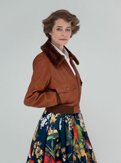 Charlotte Rampling by Peppe Tortora courtesy of Grey Magazine