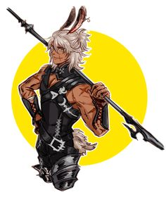 (captions in images) more ffxiv doodles, + my viera OC Milo who I made some time back 😂 Final Fantasy Artwork, Final Fantasy Xiv, High Fantasy, Fantasy Warrior, Anime Fantasy, Character Concept, Character Art, Concept Art, Dnd Characters