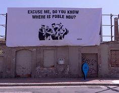 """Check out new work on my @Behance portfolio: """"EXCUSE ME, DO YOU KNOW WHERE IS POBLE NOU?"""" http://on.be.net/1II03Yt"""