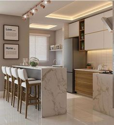 Here are some doable living room decor and interior design tips that will make your home cozy and comfortable for family and friends. Kitchen Room Design, Modern Kitchen Design, Home Decor Kitchen, Interior Design Kitchen, Kitchen Ideas, Kitchen Paint, Kitchen Colors, Kitchen Backsplash, Diy Kitchen