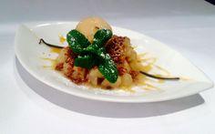 #crumble à notre façon ! #dessert #foodies #gastronomie #bastideodeon #restaurantparis