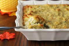 Cornbread Dressing: Bring on the Gravy!