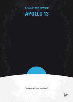 Chungkong Art - No151 My Apollo 13 minimal movie poster