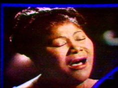 "Mahalia Jackson touches the heart with her unmatched and unforgettable ""O Holy Night""  … another of Tiz McWilliam's (BECKY) favorites!  #ChristmasMusic #anevergreenchristmas www.AnEvergreenChristmas.com"