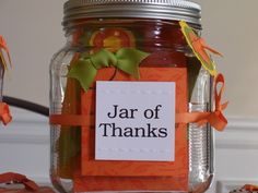 want to put everything in a jar for a gift  For Teachers