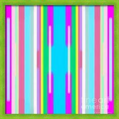 Colorama Canvas Print / Canvas Art By Vesna Panic Framed Canvas Prints, Canvas Frame, Canvas Art, Art Prints, Modern Art, Contemporary Art, Great Artists, Abstract Art, Digital Art