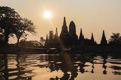 The Ruins of Ayutthaya