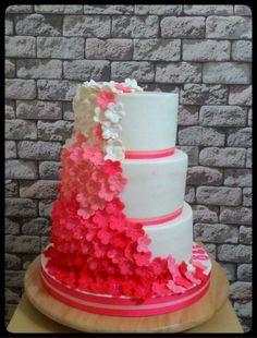 Engagement cake, flower  Nişan pastası, çiçek