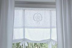 Monograms & White Linen