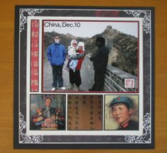 Family photo album / Scrapbooking: China.