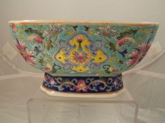 Chinese famille rose porcelain bowl Daoguang mark & period