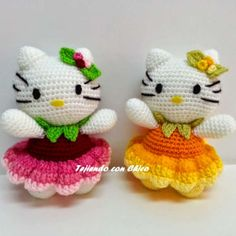 Free Hello Kitty Amigurumi Crochet Pattern