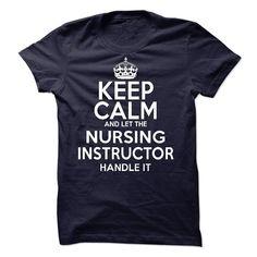 Nursing Instructor T-Shirts, Hoodies. GET IT ==► https://www.sunfrog.com/LifeStyle/Nursing-Instructor-60674793-Guys.html?id=41382