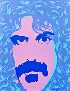NEW PAINTING OF FRANK ZAPPA