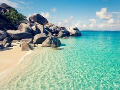Virgin Gorda Baths, British Virgin Islands.