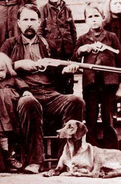 Cap Hatfield & his son Coleman A. Hatfield