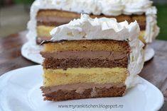 Myra's kitchen: Tort cioco-vanilie