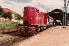 Ferrovia em Araraquara.