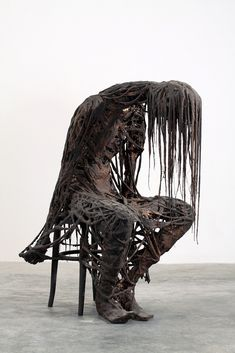 Sicily, Italy based artist Sasha Vinci creates haunting sculptures and installations that contemplate the nature of man's existence.