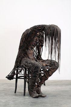 Italian Artist Sasha Vinci's Haunting and Carnal Multimedia Works | Hi-Fructose Magazine