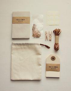brown gift kit
