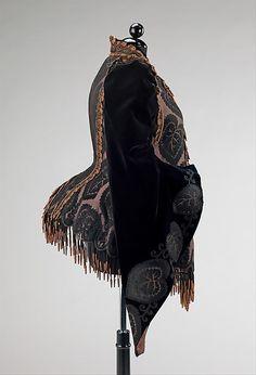 Emile Pingat, Afternoon Jacket 1885-90, Met Museum