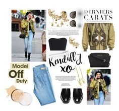 """it girl: model off duty. <3"" by tatjana ❤ liked on Polyvore featuring Givenchy, xO Design, STELLA McCARTNEY, AG Adriano Goldschmied, MICHAEL Michael Kors, Gucci, polyvorecontest, modeloffduty and polyvorefashion"