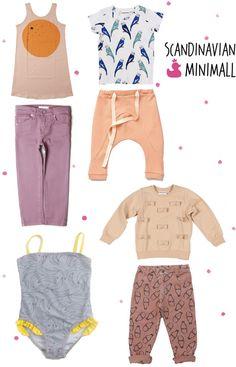 Scandinavian Minimall, little girl outfits, Bobo Choses, Mini Rodini, Gro Company, ESP NO1