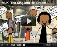 Martin Luther King Day in Kindergarten.  Free emergent reader from #SimplyKInder.