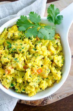 Recipe: Indian Scrambled Eggs (Egg Bhurji) — Breakfast Recipes from The Kitchn