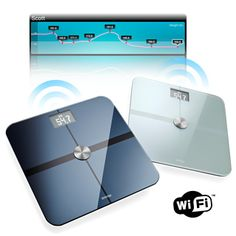 These bathroom scales automatically record your weight, fat mass and BMI (body mass index) every time you step on it. The data is then beamed  to your computer or iPhone over WiFi.