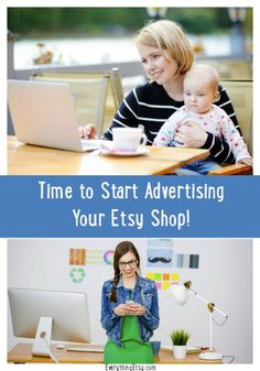 Time to Start Advertising Your Etsy Shop...ad sale this week! - EverythingEtsy.com #etsy