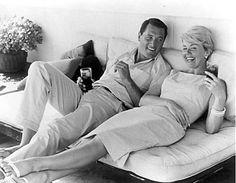 Doris Day and Rock Hudson