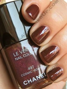 Chanel Cosmic Violine-- one of my all time favorites and go-to colors