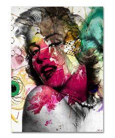 'Marilyn Monroe II' Gallery-Wrapped Canvas