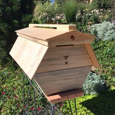 The Cathedral Hive hexagonal Top Bar Hive Beekeeping Books, Beekeeping Supplies, Backyard Beekeeping, Top Bar Hive, Bee Hive Plans, Raising Bees, Bee Boxes, Bees Knees, Queen Bees