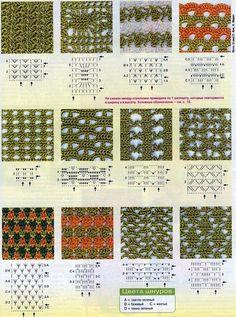 Patrones Crochet: Puntos Sueltos de Crochet Patron