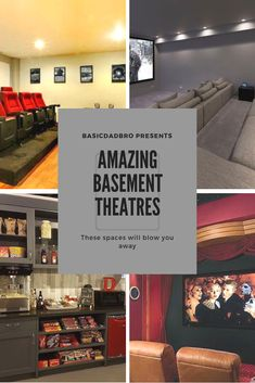 the idea of an awesome basement home theatre sound amazing? Believe it or n. Does the idea of an awesome basement home theatre sound amazing? Believe it or n., Audio room,Does the idea of an awesome basement home theatre sound amazing? Home Theatre Sound, Home Theater Speakers, Home Theater Rooms, Man Cave Basement, Man Cave Garage, Basement Bathroom, Man Cave Bar, Ultimate Man Cave, Basement Furniture